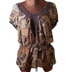 3for$20 - Brown multi top